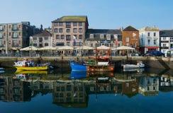 Barbacane de Plymouth Photos libres de droits