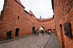 Barbacane di Varsavia Fotografia Stock