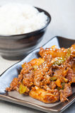 Barbacoa coreana de la carne de vaca imagen de archivo