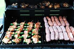 Barbacoa de la carne Foto de archivo libre de regalías