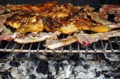 Barbacoa de la carne Imagen de archivo libre de regalías