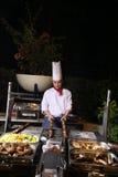 Barbacoa de la cena imagenes de archivo
