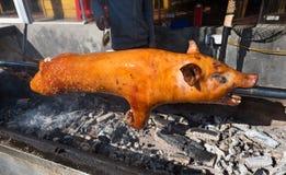 Barbacoa del cerdo Foto de archivo