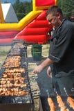Barbacoa del maestro cocinero Foto de archivo