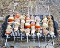Barbacoa para una comida campestre Imagen de archivo libre de regalías
