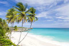 Barbados. Bottom Bay in Barbados, Caribbean Royalty Free Stock Photo