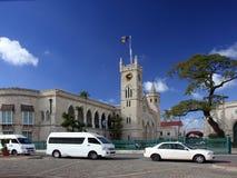 barbados bridgetown capital Fotografering för Bildbyråer