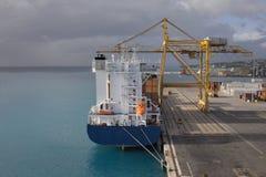 Barbados-- Bridgetown-Kanal stockfotos