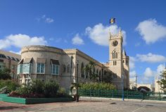 Barbados/Bridgetown: Parliament Stock Images