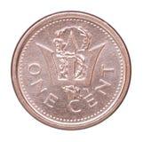 Barbados-Centmünze Stockbild