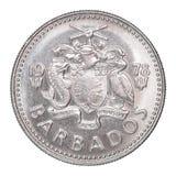 Barbados centu moneta Obrazy Stock