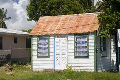 Barbados Chattel House stock image