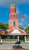 Barbados clock tower Stock Photography