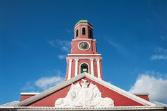 Barbados clock tower Stock Image
