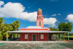 Barbados clock tower Royalty Free Stock Photo