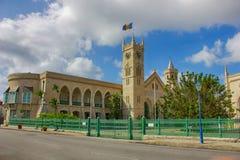 BARBADOS das Parlament in Bridgetown Stockfotos