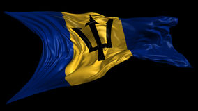 barbados flagga
