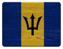 Barbados flagga Arkivfoto