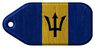 Barbados flagga Royaltyfri Fotografi