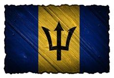 Barbados-Flagge Stockbilder
