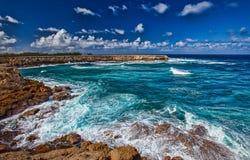 Barbados landskap Arkivbilder