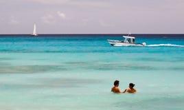 Barbados - natación, canotaje, navegación Imagenes de archivo