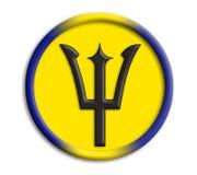 barbados olympics shield Стоковая Фотография