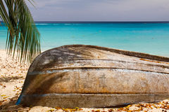 Barbados - praia do Cararibe tropical fotos de stock royalty free