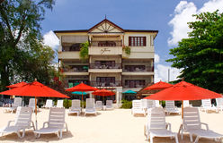 Barbados - St. James Beach Resort Hotel Stock Photography