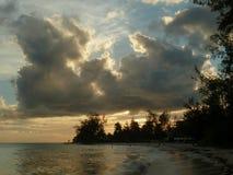 Barbados Sunset Stock Photo