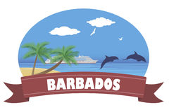Barbados. Travel and tourism Royalty Free Stock Images