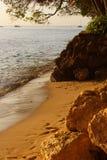 Barbados van Westcoast royalty-vrije stock foto