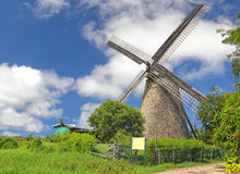 Barbados Windmill Stock Image