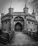 Barbakan fortress, Poland Stock Photography