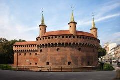 Barbakan w Krakow Obraz Stock