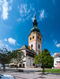 Barbakanu budynek w Banskà ¡ Bystrica Zdjęcia Royalty Free