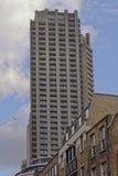 barbakanu nieruchomości London Shakespeare wierza zdjęcia stock