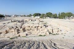Barbar tempel i Bahrain, Mellanösten Arkivbild