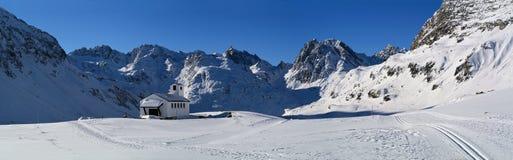 Silvretta Bielerhöhe Pass, Tirol, Austria Royalty Free Stock Image
