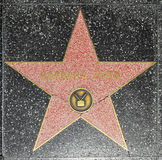 Barbara Eden's Star on the Hollywood Walk of Fame in Los Angeles Stock Image