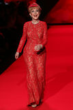 Barbara Eden walks the runway at the Go Red For Women Red Dress Collection 2015 Royalty Free Stock Photography
