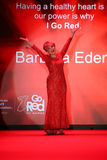 Barbara Eden walks the runway at the Go Red For Women Red Dress Collection 2015 Stock Photo