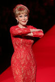 Barbara Eden walks the runway at the Go Red For Women Red Dress Collection 2015 Stock Images