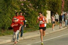 barbara internationell maraton santa Arkivfoton