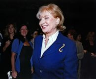 Barbara Walters royalty-vrije stock fotografie