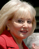 Barbara Walters Fotografia Stock Libera da Diritti
