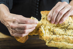 Barbari or Persian bread Royalty Free Stock Photo