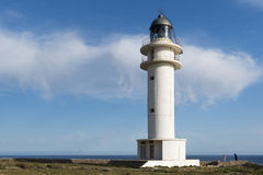 Barbaria lighthouse Stock Images