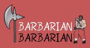 Barbarian symbol. Creative design of barbarian symbol Royalty Free Stock Photo