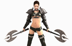 Barbarian woman Royalty Free Stock Photography